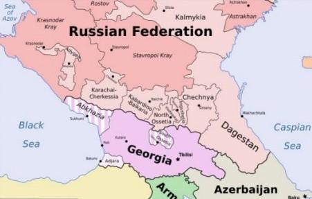 Image result for карта Северного Кавказа