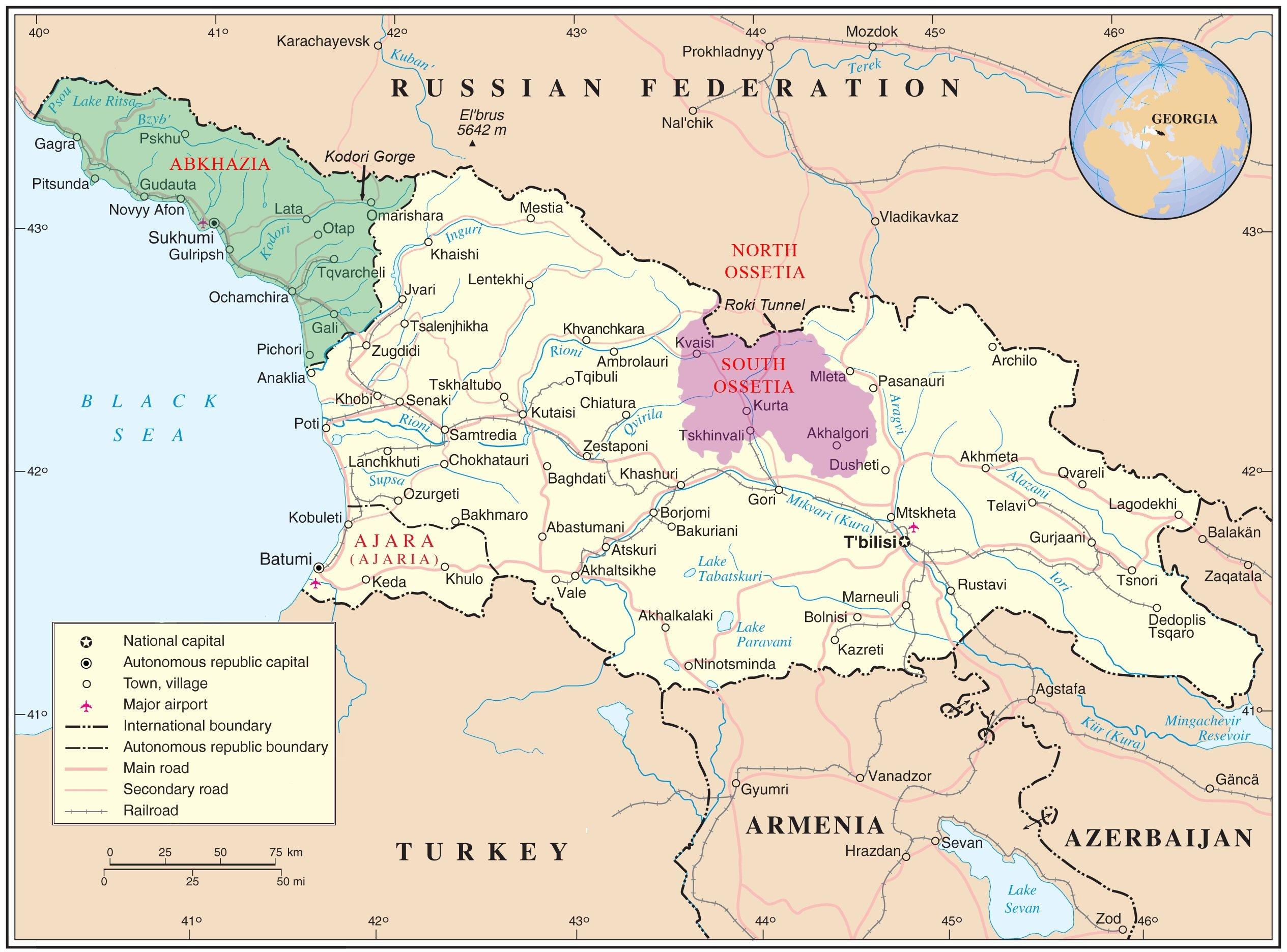 Как добраться в Грузию из Беларуси: четыре варианта